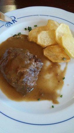 Restaurante Tabanco: Rollito de carrillada.