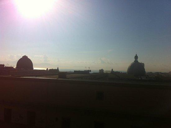 Cupole e Campanili B&B: View of Napoli with the sea in the background