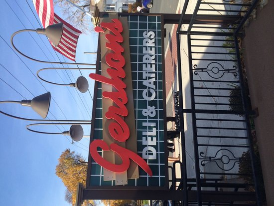 Gershon's Deli & Caterers: Sign