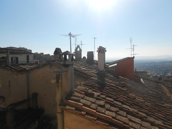 Anna Hotel : Panorama spettacolare sui tetti
