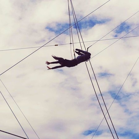 Trapeze Federation: Flying on my first class! :)
