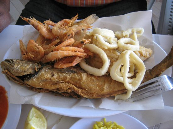 Al Bahriya Seafood Restaurant: Seafood platter