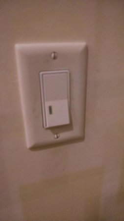 SpringHill Suites Chicago Waukegan/Gurnee: Filthy switchplates throughout room