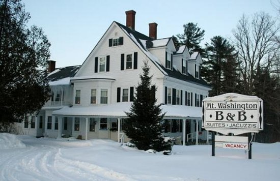 Mt. Washington Bed and Breakfast: Mt. Washington B & B in Winter