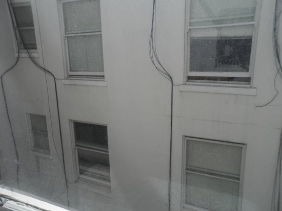 SF Plaza Hotel: view from room