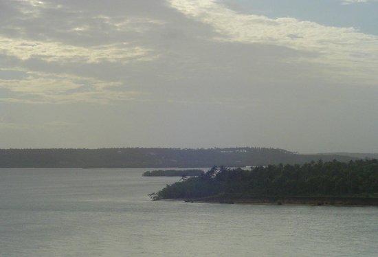 Guarairas Beach: lagoa