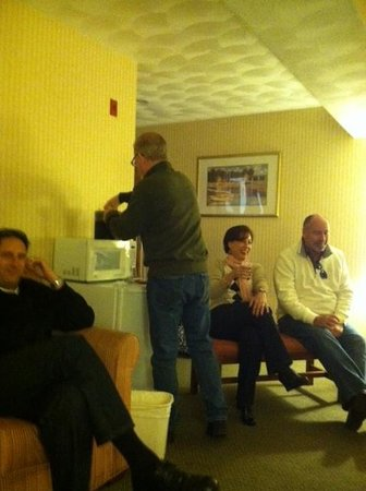 Comfort Inn Middletown: Good friends
