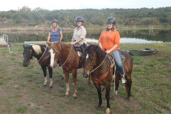 Texas Trail Rides : 3 Swedes on horseback in Texas