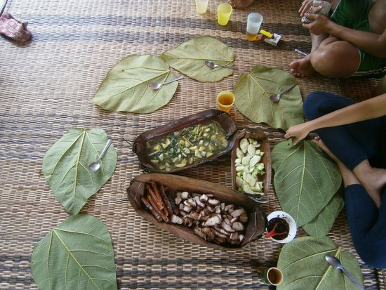 Saloma's Villagestay : Lunchtime!