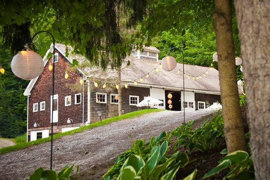 West Mountain Inn: Historic barn - perfect for weddings, events and retreats