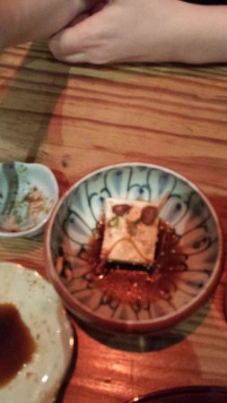 Itadaki Zen: My tofu was sad because it was lonely and poorly prepared