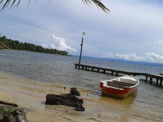 Panama's Paradise Saigoncito: muelle