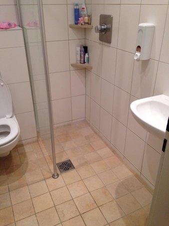 Euro Youth Hotel: Туалет в номере