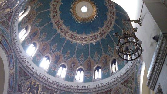 Iglesia de San Manuel y San Benito: Cúpula
