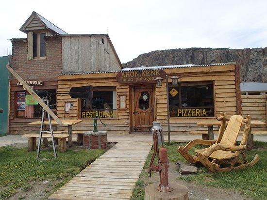 Restaurante Ahonikenk Chalten Fonda Patagonia: Frontage