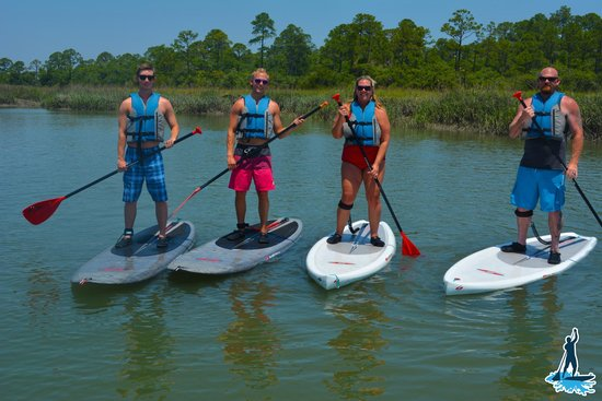 Fripp Island, เซาท์แคโรไลนา: Are you ready for a paddle board adventure?