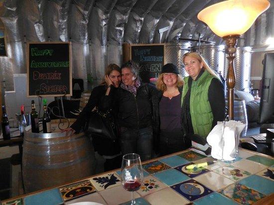 Sandbanks Vacations & Tours: At Harwood- with happy birthday sign!
