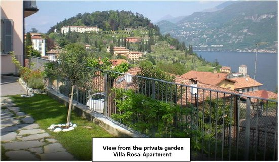 View from the garden - Apartment Depandance Villa Rosa 1 - Picture ...