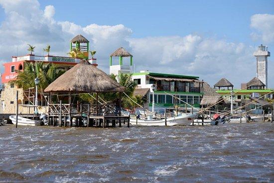 Hotel Villa de Pescadores: Villa de Pescadores - from the lagoon