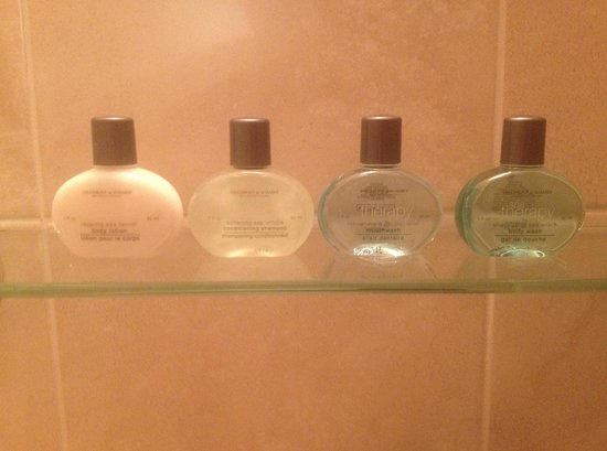 Gullivers Hotel: Complimentary soaps
