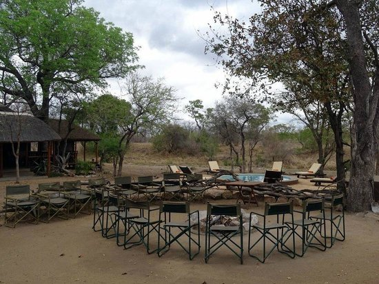 Shindzela Tented Camp: Camp Fire