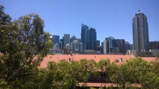 Metro Aspire Hotel Sydney: View from the top floor balcony