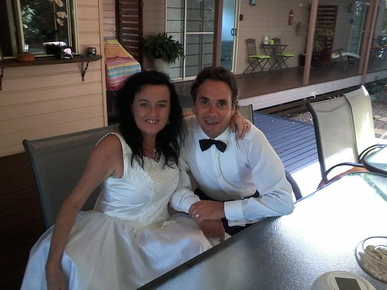 Our Wedding Day at Barooga on Pier