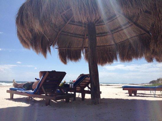 Retiro Maya Villas: Praia