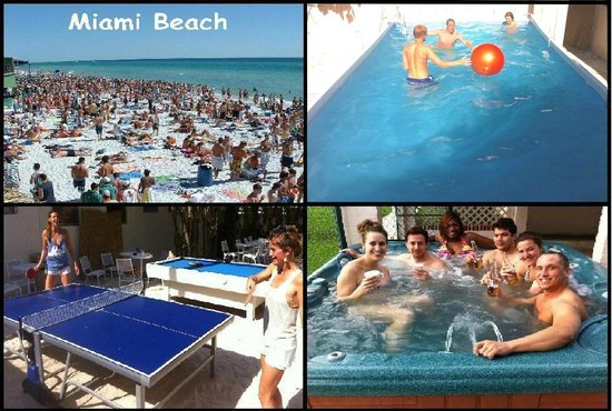 Pool Picture Of Bikini Hostel Cafe Beer Garden Miami Beach Tripadvisor