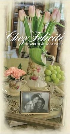 Chez Felicite' Bed & Breakfast: Chez Felicite is decorated  with antique furnishings & enriched with heirlooms.