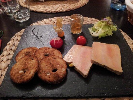 Hôtel-Restaurant du Mouton: Terrine de fois gras