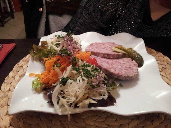 Hôtel-Restaurant du Mouton: Terrine de sanglier