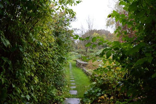 School Cottages Bed & Breakfast: Garden pathway