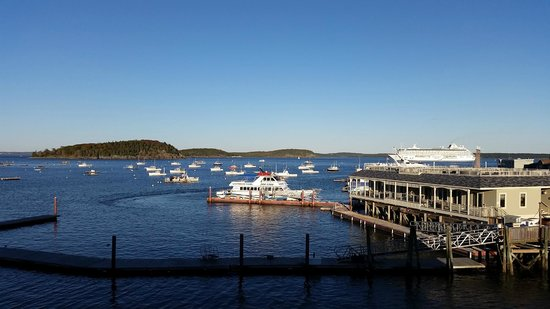 Harborside Hotel & Marina: View from our room