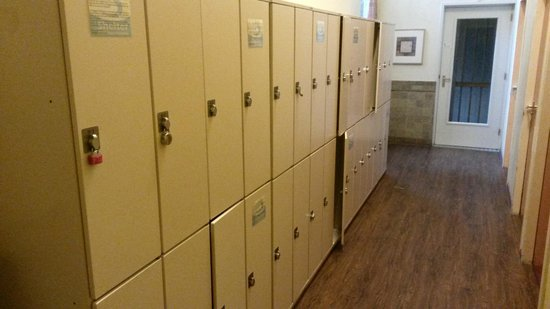 Shelter City Hostel Amsterdam: Lockers