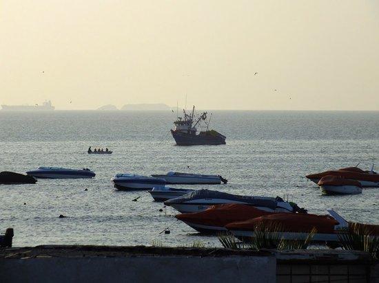 Hostal los Frayles : vista del mar
