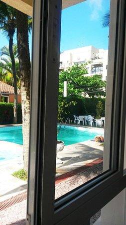 Guaruja Hostel: área de lazer linda!