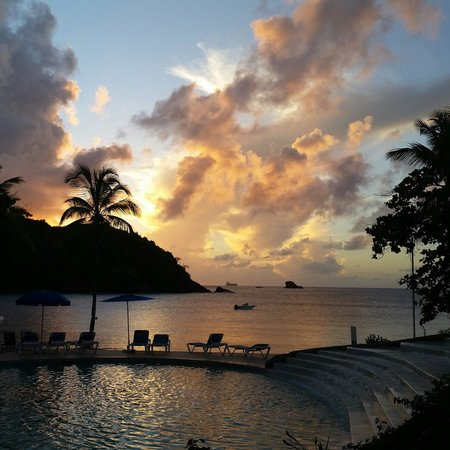 Cap Estate, St. Lucia: Sunsets here are spectacular