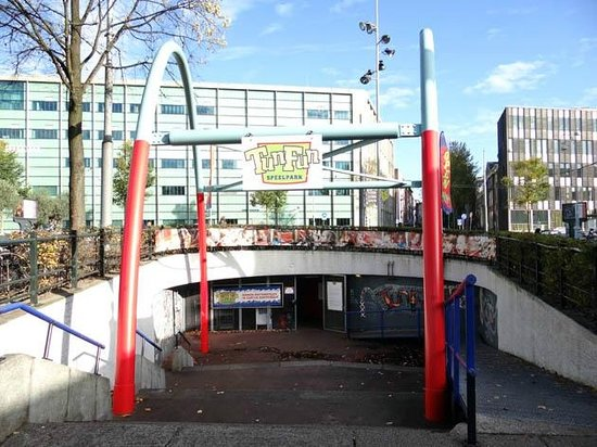 TunFun Speelpark: The entrance