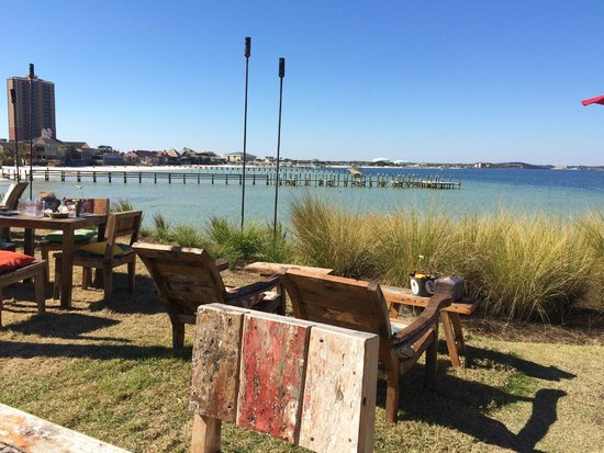 Enjoy the view picture of red fish blue fish pensacola for Blue fish restaurant