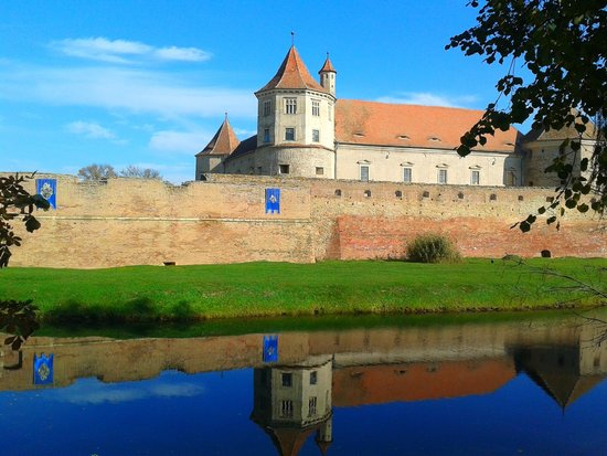 Fagaras Fortress: The fortress, early november 2014