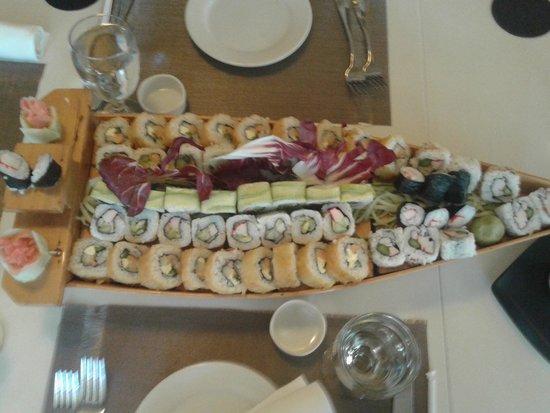 Real InterContinental Guatemala: El mejor Sushi