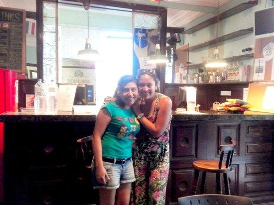 Con Evelyn Una de las Mejores de CabanaCopa Hostel