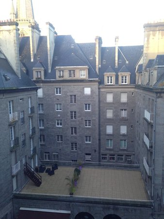 Hotel Bristol Union : View from the room
