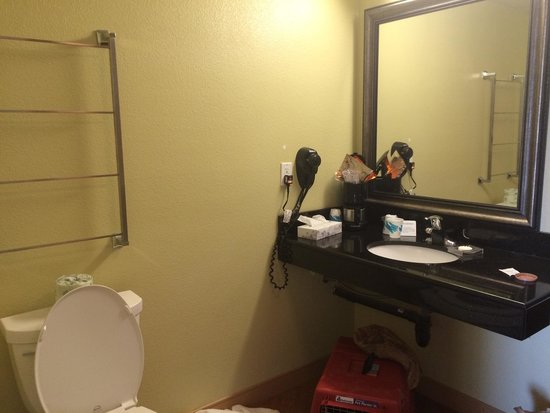 La Quinta Inn & Suites Fresno Northwest: Nice little vanity area