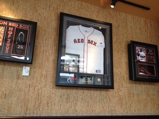 red sox memorabilia - Picture of Jerry Remy's - Seaport