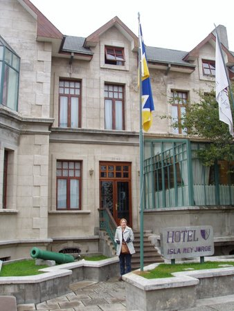 Hotel Isla Rey Jorge: em frente ao hotel