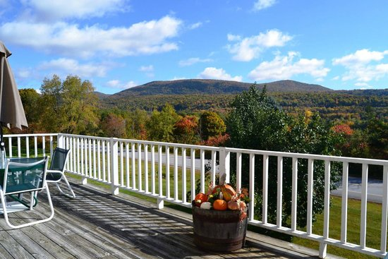 The INN at Willow Pond: View from main building deck