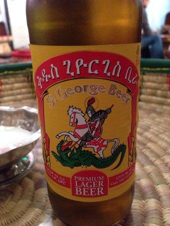 Zeni Ethiopian Restaurant : St. George beer