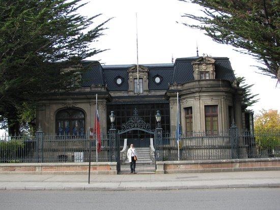 Palacio Sara Braun: em frente ao casarão